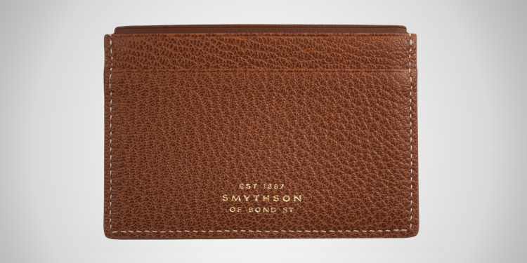 Smythson Grosvenor Slim Card Case