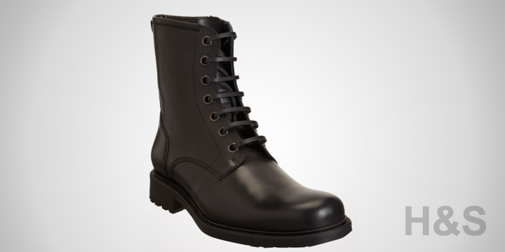 Barney's New York Co-op Side Zip Combat Boots