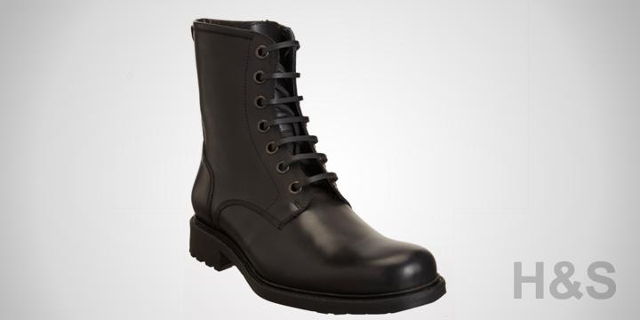 Barney's New York Co-op Side Zip Combat Boots