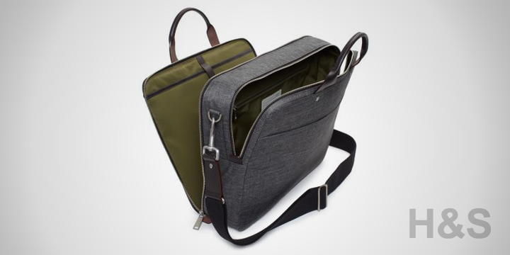 Jack Spade Tech Oxford Laptop Briefcase