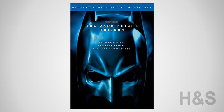 The Dark Knight Trilogy Blu-ray Set