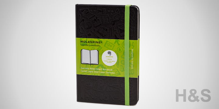 Moleskine Evernote Smart Notebooks
