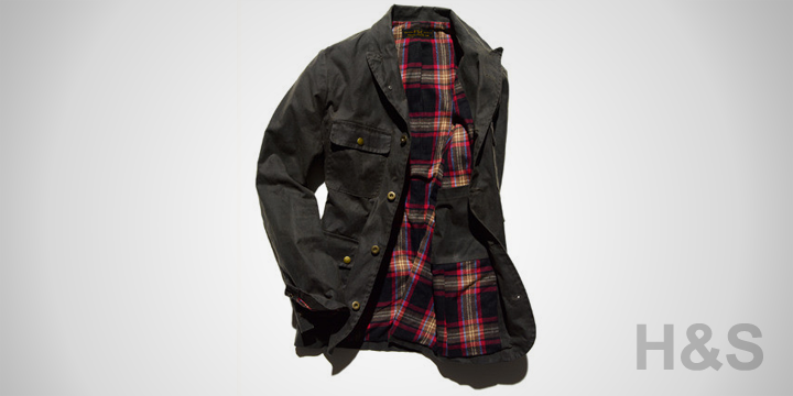 Freemans Sporting Club Waxed Shacket