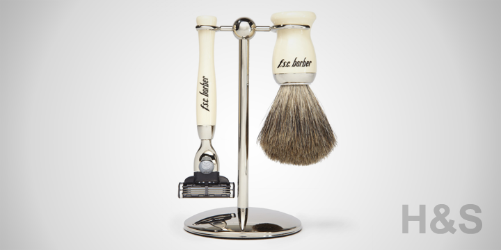 FSC Barber 3 Piece Ivory M3 Shave Set