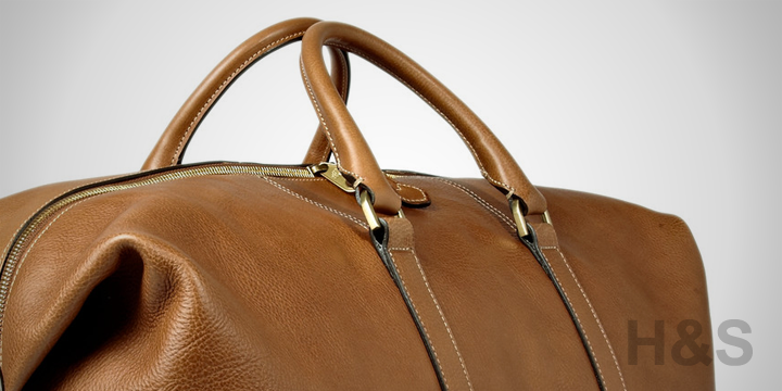 Mulberry Leather Clipper Holdall