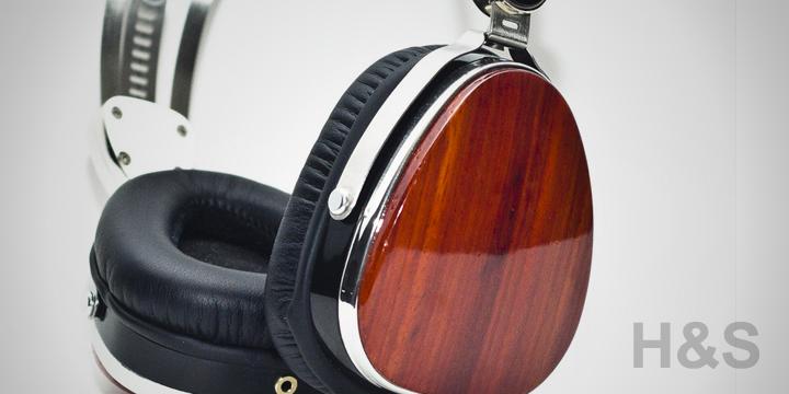 LSTN Cherry Wood Troubadour Headphones