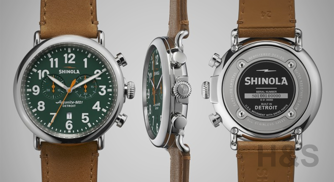Shinola Runwell Chronograph 47mm