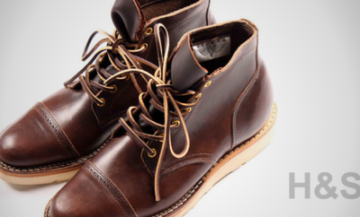 Viberg 1950 Brown Cowhide Service Boot