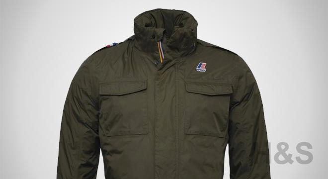 K-Way Manfield Thermo Down Field Jacket
