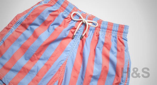 Solid & Striped Las Brisas Classic Swim Trunk