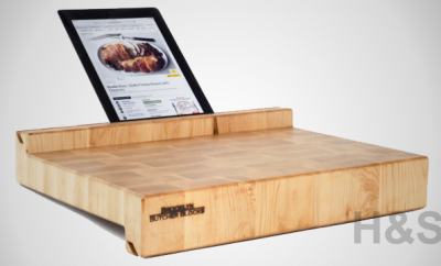 iBlock Natural Wood Butcher's Block