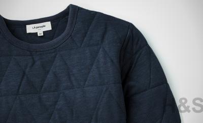 La Panoplie Quilted Sweatshirt