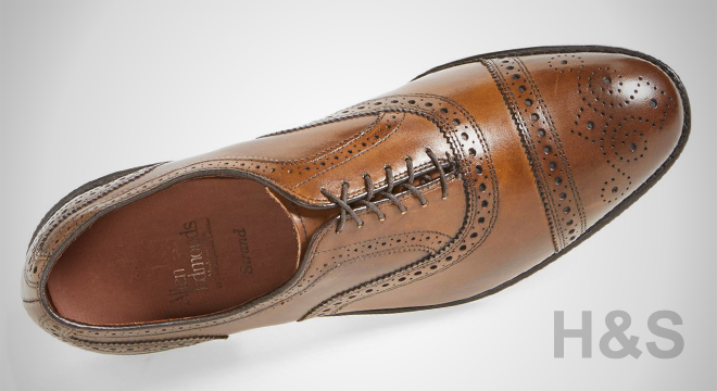 Allen Edmonds 'Strand' Cap Toe Oxford