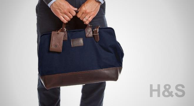 Heritage Leather + Apolis Mason Courier Bag