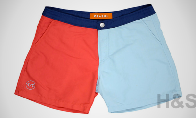 Olasul Solid Swim Trunks