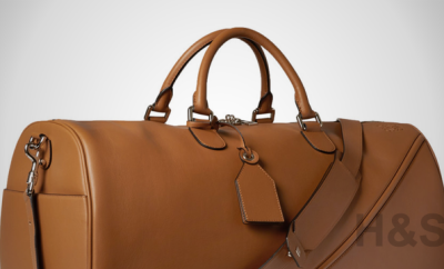 Loewe Leather Duffel Bag